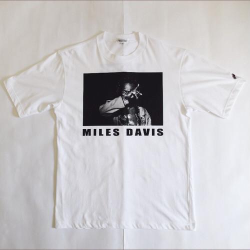 MILES DAVIS / マイルス・デイビス / マイルスTシャツ/ホワイトS