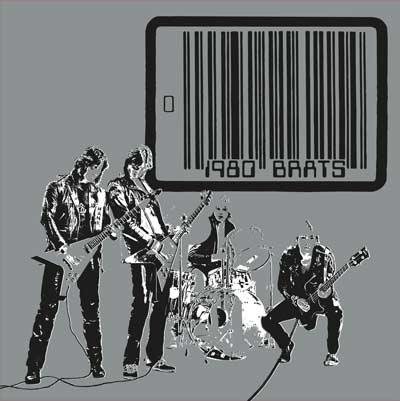 BRATS (DENMARK) / 1980 BRATS (LP/SILVER VINYL)
