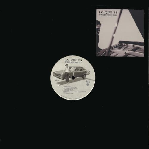 ENRIQUE RODRIGUEZ(piano) / Lo que es(LP/Red Vinyl)