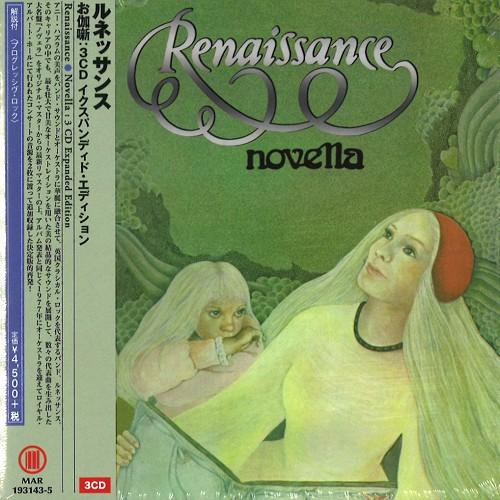 RENAISSANCE (PROG: UK) / ルネッサンス / NOVELLA: 3CD EXPANDED EDITION - 2019 REMASTER / お伽噺:3CDイクスパンディド・エディション - 2019リマスター