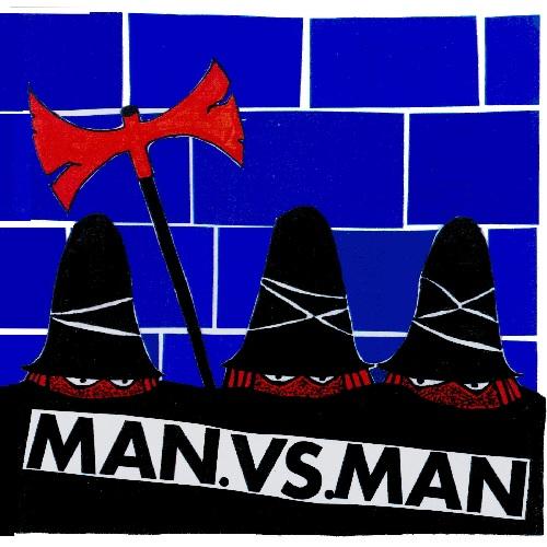 """M.A.N.VS.M.A.N / Evil, Vicious, Mean & Ugly (10"""")"""