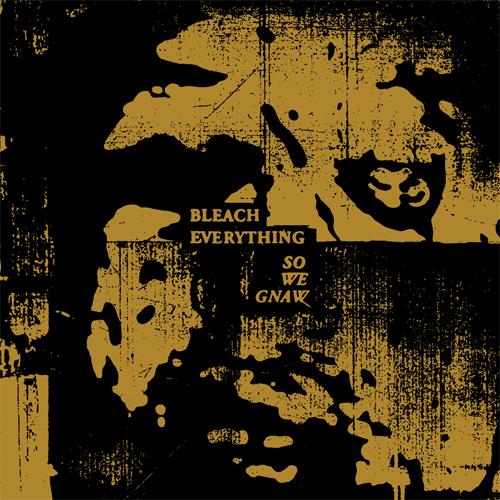 BLEACH EVERYTHING / SO WE GNAW