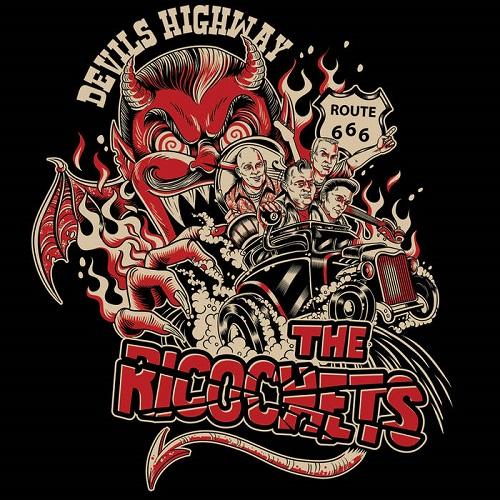 """RICOCHETS / リコチェッツ / DEVILS HIGHWAY (7"""")"""