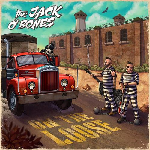 JACK O BONES / ON THE LOOSE (LP)