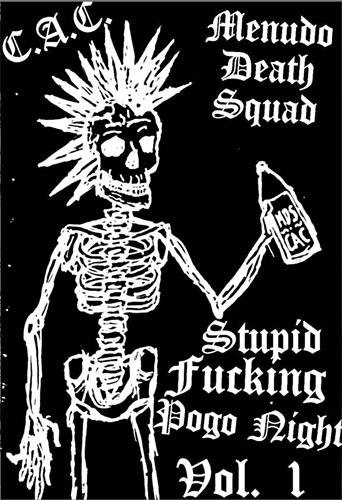 C.A.C. : MENUDO DEATH SQUAD / SPLIT (CASSETTE)
