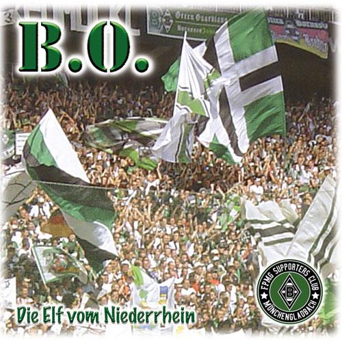 B.O. (PUNK) / DIE ELF VOM NIEDERRHEIN (LP)
