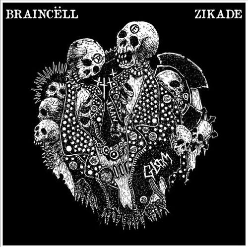 "BRAINCELL : ZIKADE / SPLIT (7"")"