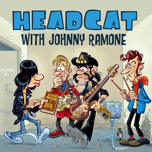 "HEAD CAT WITH JOHNNY RAMONE / GOOD ROCKIN' TONIGHT (7"")"