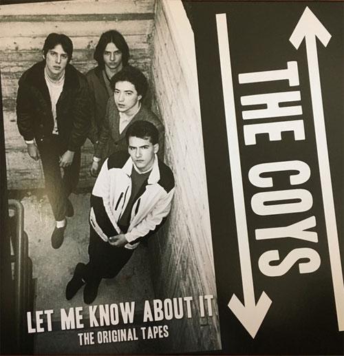 COYS / LET ME KNOW ABOUT IT (LP)