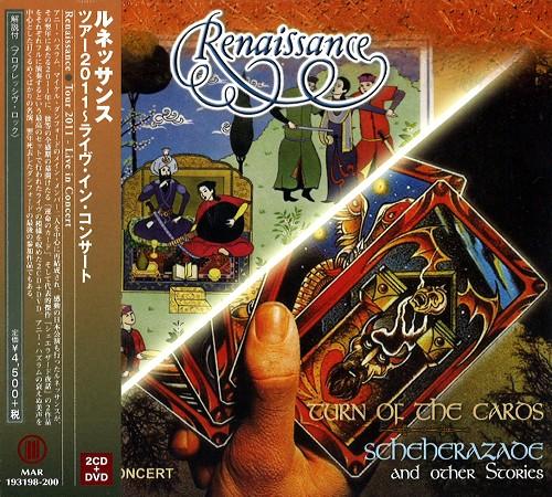 RENAISSANCE (PROG: UK) / ルネッサンス / TOUR 2011~LIVE IN CONCERT: 2CD+DVD / ツアー2011~ライヴ・イン・コンサート: 2CD+DVD