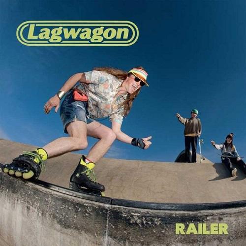 LAGWAGON / ラグワゴン / RAILER (LP)