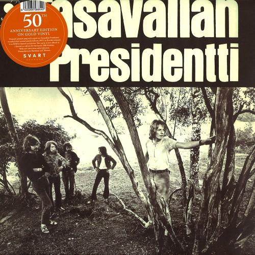 TASAVALLAN PRESIDENTTI / II: LIMITED 500 COPIES GOLD COLORED VINYL - 180g LIMITED VINYL