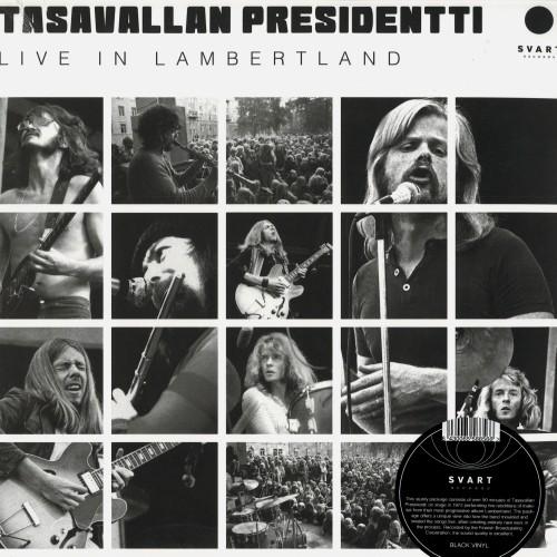 TASAVALLAN PRESIDENTTI / LIVE IN LAMBERTLAND - 180g LIMITED VINYL