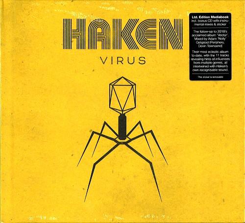 HAKEN / VIRUS: LIMITED EDITION MEDIABOOK