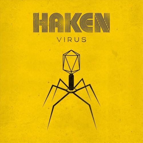 HAKEN / VIRUS: LIMITED GATEFOLD CLEAR 2LP+CD - 180g LIMITED VINYL