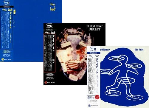 ディス・ヒート / 紙ジャケットCD 3タイトルまとめ買いセット