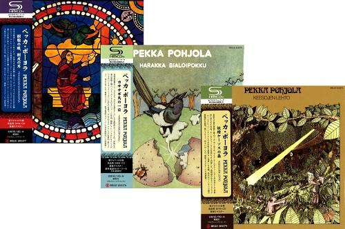 ペッカ・ポーヨラ / 紙ジャケットSHM-CD3タイトルまとめ買いセット