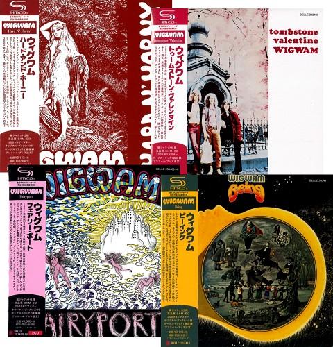 ウィグワム / 紙ジャケットSHM-CD4タイトルまとめ買いセット