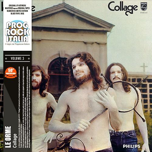 LE ORME / COLLAGE: PROG ROCK ITALIA VOLUME 3 - 180g LIMITED VINYL/2020 REMASTER