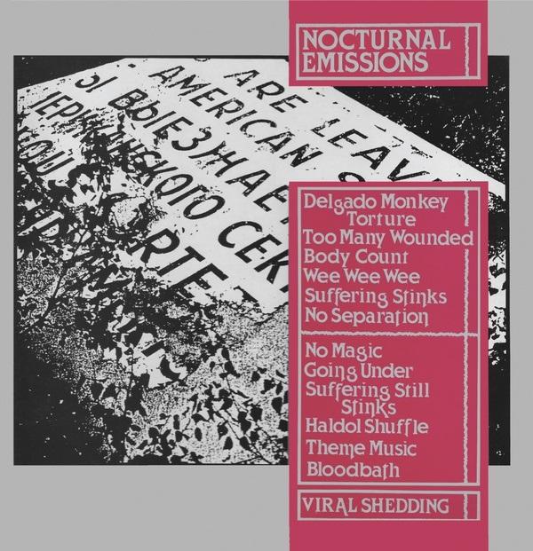 NOCTURNAL EMISSIONS / ノクターナル・エミッションズ / VIRAL SHEDDING [LP]