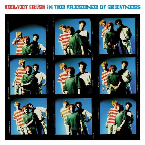 VELVET CRUSH / ヴェルヴェット・クラッシュ / IN THE PRESENCE OF GREATNESS (LP/180G/BLUE VINYL)