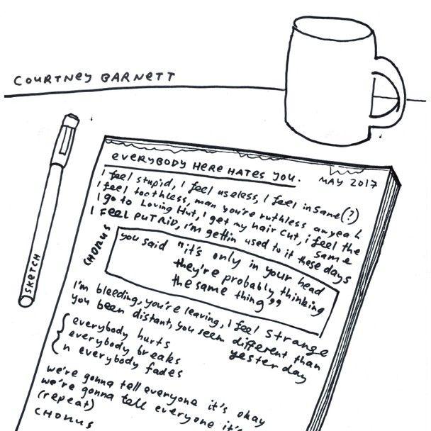 "COURTNEY BARNETT / コートニー・バーネット / EVERYBODY HERE HATES YOU [12""]"