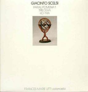GIACINTO SCELSI / ジャチント・シェルシ商品一覧|JAZZ|ディスク ...