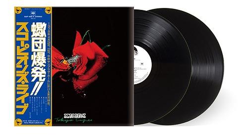 SCORPIONS / スコーピオンズ / TOKYO TAPES / 蠍団爆発!!スコーピオンズ・ライヴ -40周年記念盤-<LP>
