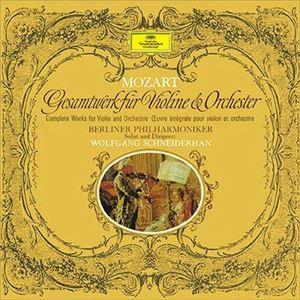 モーツァルト: ヴァイオリン協奏曲全集/WOLFGANG SCHNEIDERHAN ...