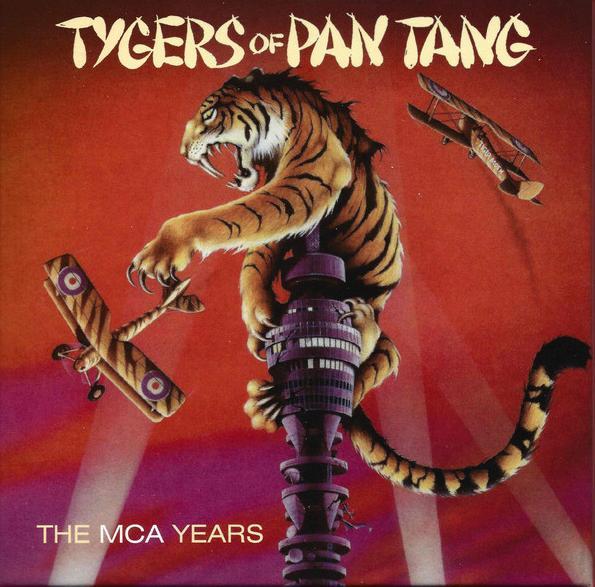 TYGERS OF PAN TANG / タイガース・オブ・パン・タン / THE MCA YEARS<5CD / BOX>