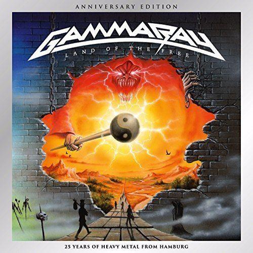GAMMA RAY / ガンマ・レイ / LAND OF THE FREE<DIGI / 2CD>