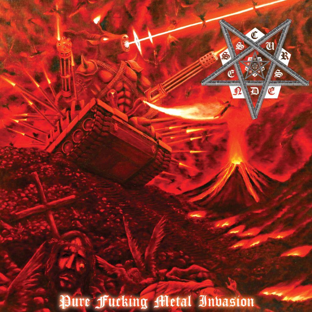 CURSEDNESS / カースドネス / PURE FUCKING METAL INVASION / ピュア・ファッキング・メタル・インヴェージョン