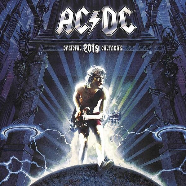 AC/DC / エーシー・ディーシー / OFFICIAL 2019 CALENDAR