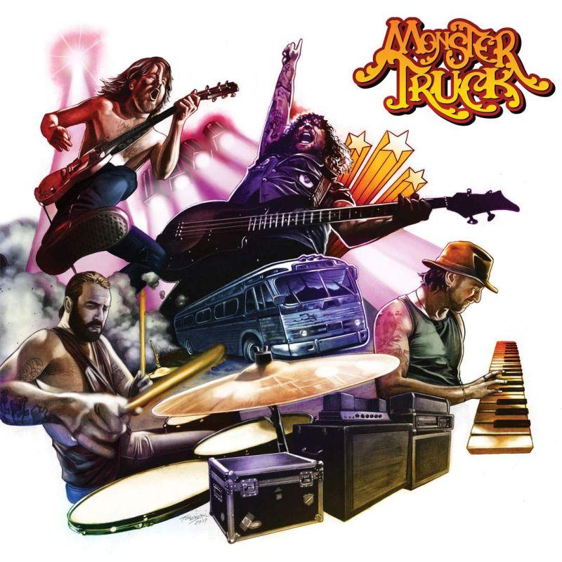MONSTER TRUCK / TRUE ROCKERS<DIGI>