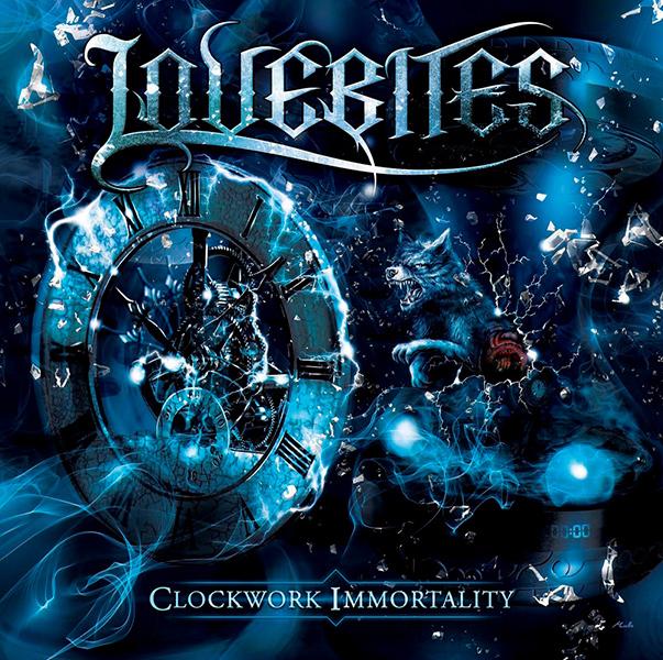 LOVEBITES (METAL) / ラブバイツ / CLOCKWORK IMMORTALITY / クロックワーク・イモータリティ<完全生産限定盤A / CD+ブルーレイ>