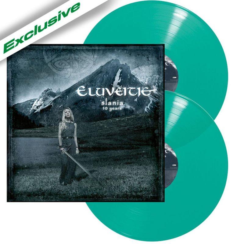 ELUVEITIE / エルヴェイティ / SLANIA (10 YEARS)<2LP/MINT VINYL>