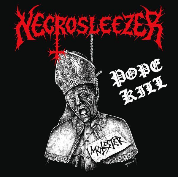NECROSLEEZER / POPE KILL<BLACK VINYL>