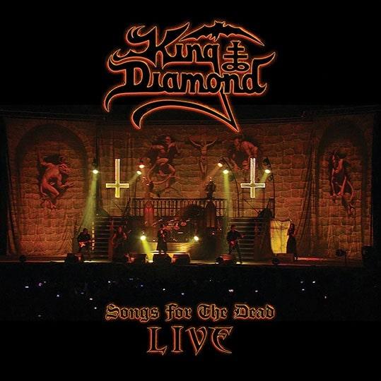 KING DIAMOND / キング・ダイアモンド / SONGS FOR THE DEAD LIVE / ソングス・フォー・ザ・デッド・ライヴ<2DVD+CD>