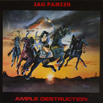 JAG PANZER / AMPLE DESTRUCTION<NEON ORANGE VIMYL>
