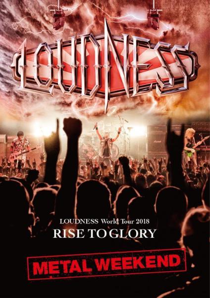 LOUDNESS / ラウドネス / LOUDNESS World Tour 2018 RISE TO GLORY METAL WEEKEND<BLU-RAY+2CD> / ラウドネス・ワールド・ツアー2018 ライズ・トゥ・グローリー・メタル・ウィークエンド