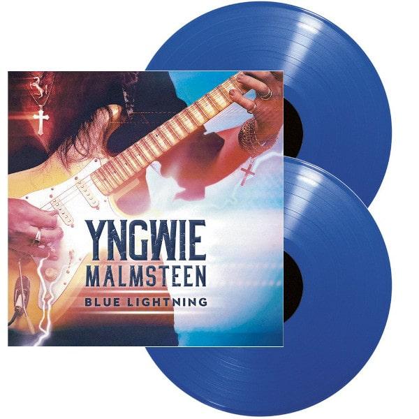 YNGWIE MALMSTEEN / イングヴェイ・マルムスティーン / BLUE LIGHTNING<2LP/BLUE VINYL>