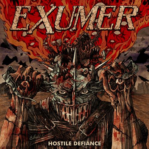 EXUMER / HOSTILE DEFIANCE