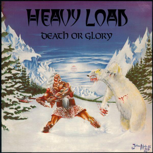 HEAVY LOAD (METAL) / ヘヴィー・ロード / DEATH OR GLORY<BLACK VINYL+BONUS CD>