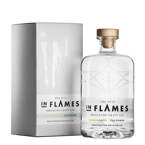 IN FLAMES / イン・フレイムス / SIGNATURE CRAFT GIN NO.13 BATCH 2 - ELDERFLOWER & CUCUMBER <700ML> / シグネチャー・クラフトジン No.13 バッチ2 - エルダーフラワー&キューカンバー <700ML>