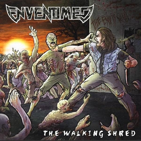 ENVENOMED / THE WALKING SHRED