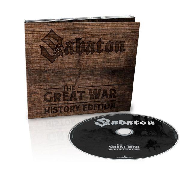 SABATON / サバトン / THE GREAT WAR HISTORY EDITION<DIGI>