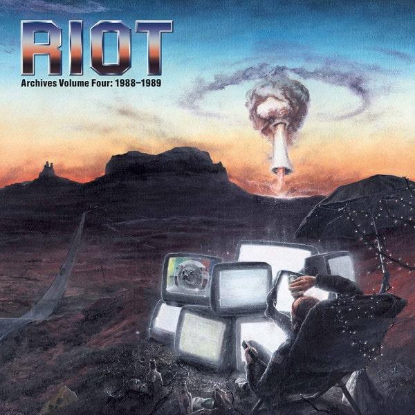 RIOT (RIOT V) / ライオット / ARCHIVES VOLUME 4: 1988-1989<CD+DVD/SLIPCASE>