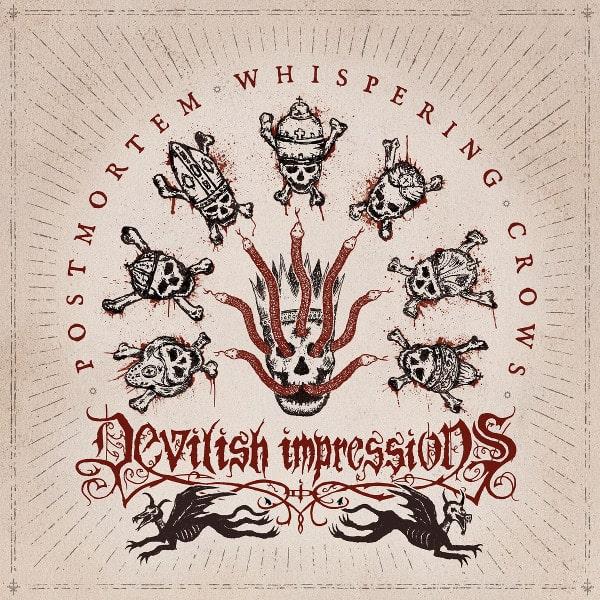 DEVILISH IMPRESSIONS / POST MORTEM WHISPERING CROWS<DIGI>