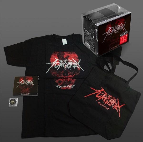 GALNERYUS / ガルネリウス / INTO THE PURGATORY / イントゥ・ザ・パーガトゥリー<初回限定盤:CD+スマホリング+トートバック+Tシャツ(Lサイズ)>