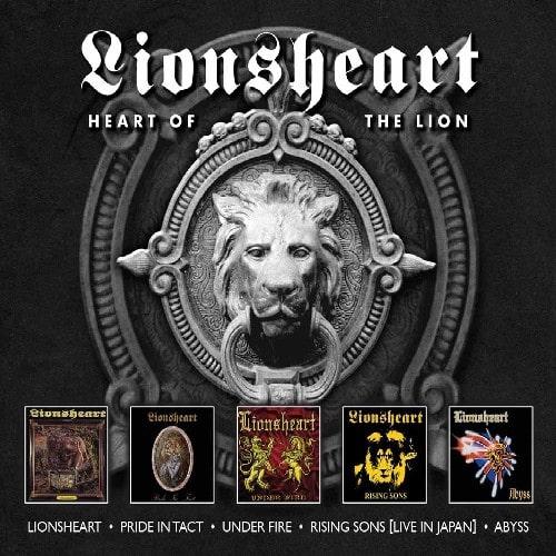 LIONSHEART / ライオンズハート / HEART OF THE LION<5CD>